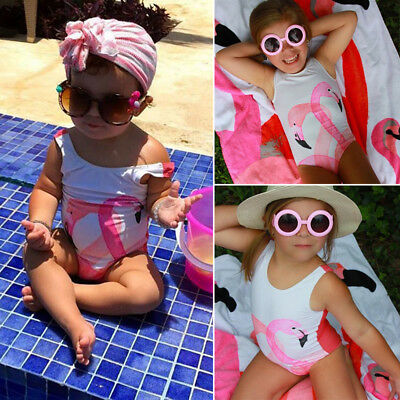 One-Piece Toddler Baby Kid Girl  Bikini Swimwear Swimsuit Bathing Suit Beachwear
