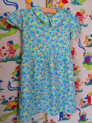 Original Vtg NOS Unworn 40's Girls Cotton Dress Sized as 22  Age 3?