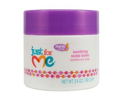 Just For Me New Look Soothing Scalp Balm Soothes Dry Scalp 3.4 oz
