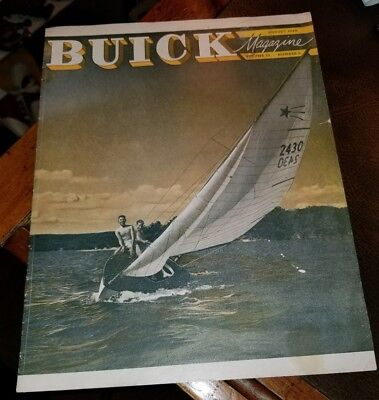 August 1948 Buick Factory Magazine Brochure Vol 10 No 2 KENT CO. MOTOR CO. DOVER