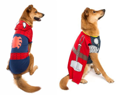 Genuine Marvel Comics Dog Superhero Character Costume Fancy Dress Outfit