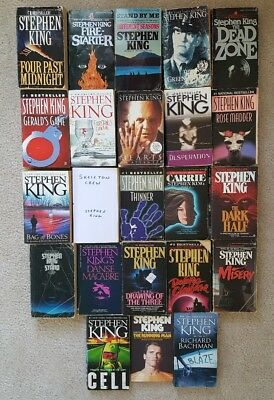 *Pick 2* Stephen King book lot - The Stand, Green Mile, Carrie, Dark Tower, more