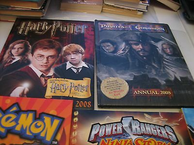 5 x Annuals. Pirates of the Caribbean, Harry Potter Poster, Marvel... MyrefP35