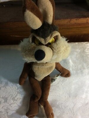 Vintage 1999 Wylie E Coyote Warner Bros. Looney Tunes Plush