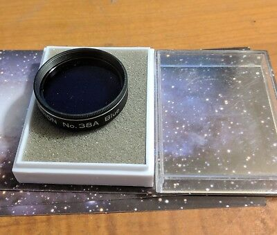 Orion Telescope Eyepiece Filter #38A Blue  Made In Japan