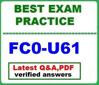 FC0-U61	-  BEST EXAM Practice Q&A-  CompTIA IT Fundamentals+ Certification Exam