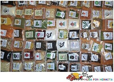 Hermit Crab Food 20 Quality Variety OOAK items like Green Sand Bee Pollen MORE