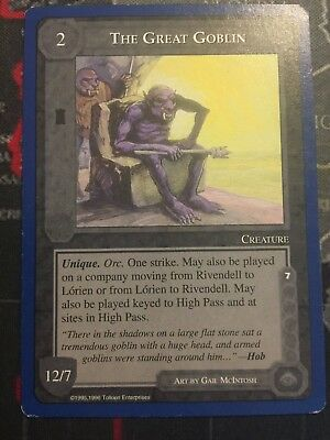 Middle-Earth Ccg - The Great Goblin  - The Wizards Unlimited - Meccg Satm Twul