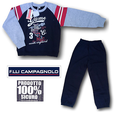 Campagnolo. Suit Winter for Child, Dynamic, 8Q12627. Jersey+Trousers