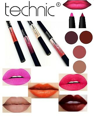 OMBRE Technic Lip Liner Pencil Matte Lipstick Two Tone Dark and Light Shades