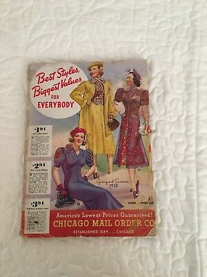 Chicago Mail Order CATALOG - Spring and Summer 1938