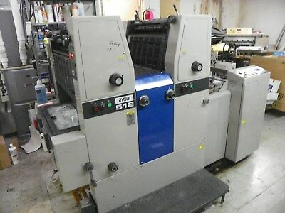 Ryobi 512 2/color  Commercial Offset Printing Press Machine