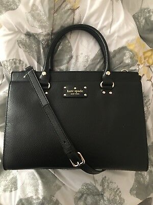 Kate Spade New York Wellesley Durham Convertible Tote (Black) New w/ Tags