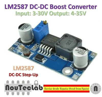 LM2587 DC-DC Boost Converter 3-30V Step up to 4-35V Power Supply Module MAX 5A