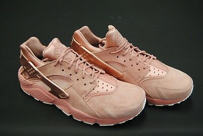 [704830 601] New Men Nike Air Huarache Run Premium Rust Pink M Red Bronze Le1031