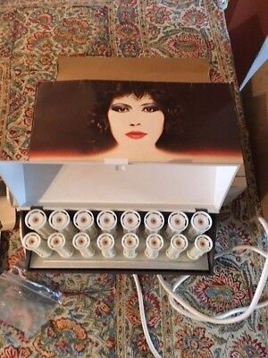 Vintage Carmen 88s 16 heated rollers with original box