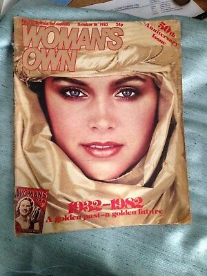 WOMAN'S OWN MAGAZINE 50th ANNIVERSARY  16th OCT 1982 ISSUE