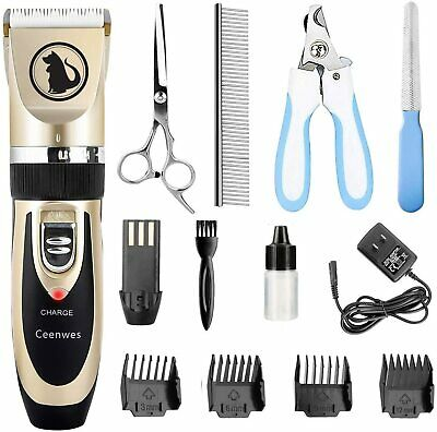 Dogs and Cats Electric Clipper, Professional Pet Hair Shaver , Grooming Trimmer