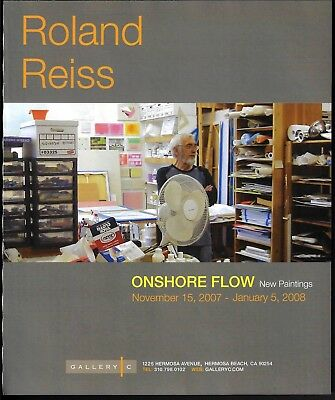 2007 Roland Reiss Studio Photo Gallery Exhibition New Paintings Print Ad
