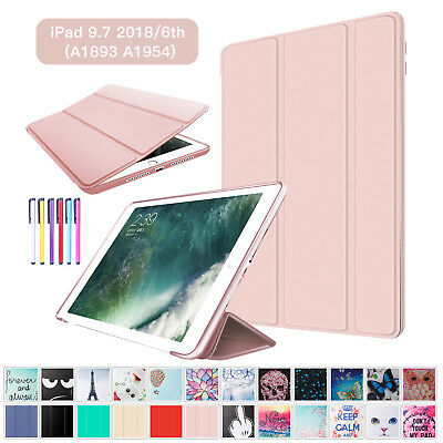 "For iPad 9.7"" 2018/iPad 6th Generation Case Cover Auto Sleep / Wake Smart Flip"