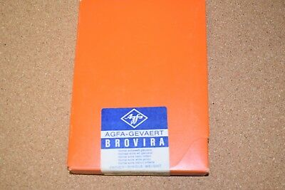 Vintage Agfa Gevaert 5X7 Brovira Normal Extra White Glossy Photo Paper 100 Sheet