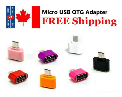 Micro USB To USB  2.0 OTG  Adapter for All Android Tablets and Smart Phones