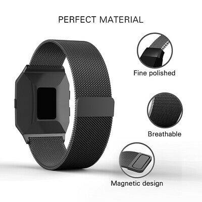 For Fitbit Ionic Replacement Milanese Loop Stainless Steel Wrist Band Strap US
