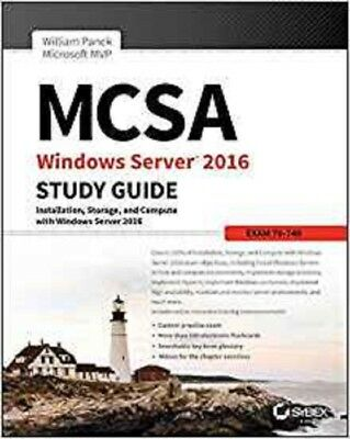 MCSA Windows Server 2016 Study Guide: Exam 70-740 Read on PC/SmartPhone/Tablet