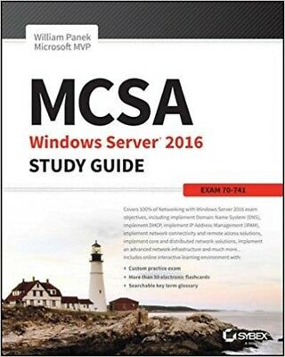 MCSA Windows Server 2016 Study Guide: Exam 70-741 Read on PC/SmartPhone/Tablet
