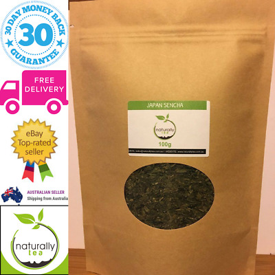 Japanese Sencha Loose Leaf Green Tea 100g Healthy Delicious Energy Boosting