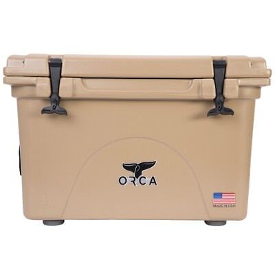 Orca 40Qt Tan Cooler / Lifetime Warranty / Tan 40 Quart Cooler  **new**