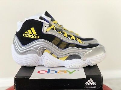 074f91948b1 DS Mens Adidas Crazy 2 LAKERS Sizes 8 or 9.5 kobe white home black yellow  S83922