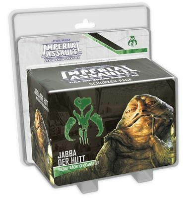 Star Wars Imperial Assault - Jabba the Hutt Extension German Scum Mercenary