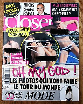 William and Kate French Magazine CLOSER issue 379 Middleton Royals Future Queen