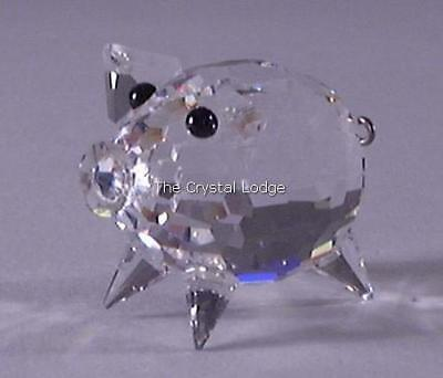 5be860795 RARE RETIRED SWAROVSKI Crystal Medium Pig / Wire Tail V2 010031 Mint ...