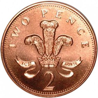1971-2019 Uk Gb Decimal 2P Two Pence Coins - Select Dates From List