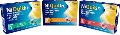Niquitin patch Step 1/2/3 (21MG/14MG/7MG)