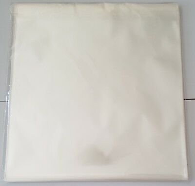 """50 x Record Outer Sleeves for Vinyl LP Records 12"""" Clear"""