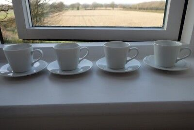 JOHN LEWIS LSA International Dine 4 tea/coffee cups and saucers ...