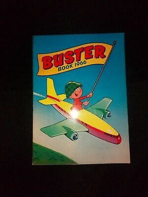 Buster Book 1966 Vintage Comic Paperback Annual