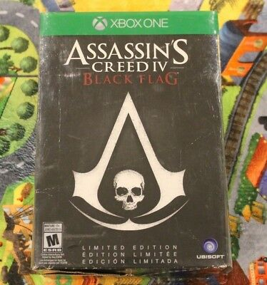 Assassin's Creed IV: Black Flag Limited Edition Microsoft Xbox One, 2013 no game