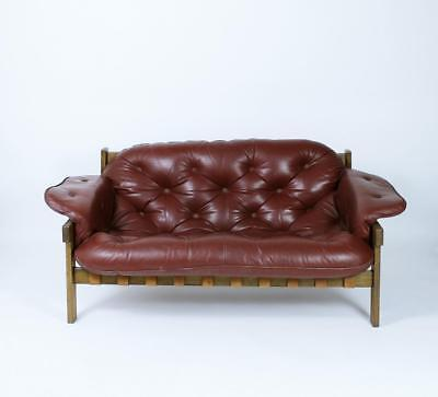 Vintage Szenator  Sofa in Manner of Percival Lafer, Sergio Rodrigues