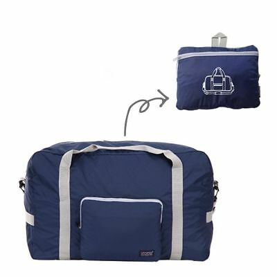 40L Foldable Travel Sports Carry On Lightweight Duffel Holdall Luggage Carry Bag