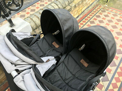 Two Mountain Buggy Cocoon Carry Cots - perfect for new twins!