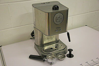 GAGGIA BABY Class Silver Coffee Maker Machine with Professional ...