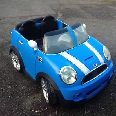 2 Seater Mini Cooper S 12v Electric Car