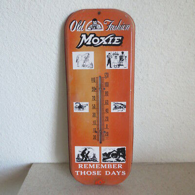 Moxie Soda Thermometer Old Fashion Drink Maine