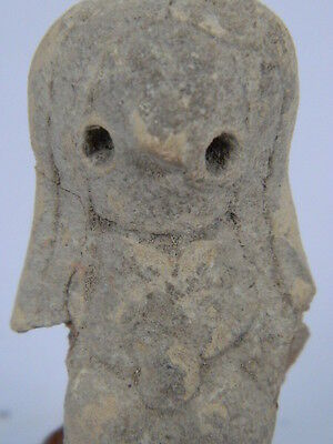 """Indus Valley Teracotta Mother Goddess Bust C.2500 Bc No Reserve Auction """"t15439"""""""