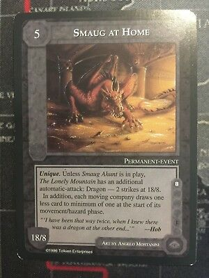 Middle-Earth Ccg - Smaug At Home - The Dragons - Meccg Satm Metd