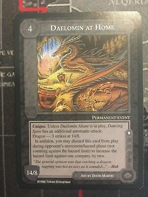 Middle-Earth Ccg - Daelomin At Home - The Dragons - Meccg Satm Metd